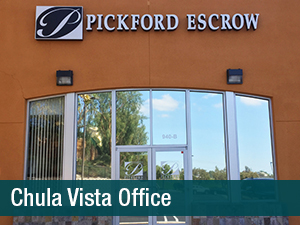 Escrow Officer – Chula Vista